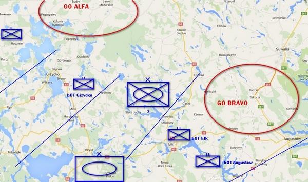 Bataliony Obrony Terytorialnej w terenie lesisto-jeziornym