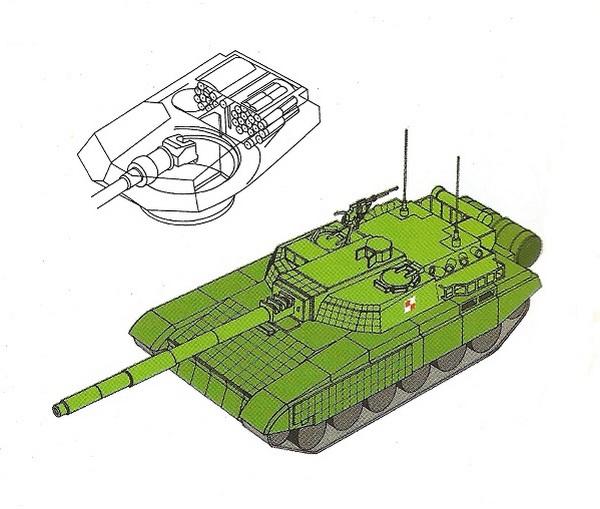 Czołg PT-2001 2