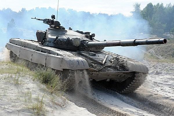 Czołg T-72 01