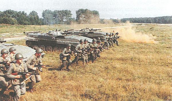 Piechota ludowego Wojska Polskiego