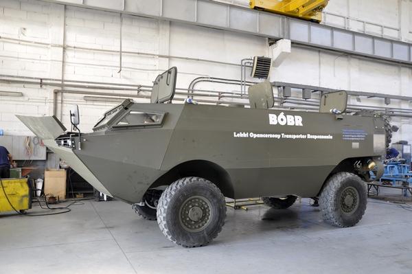 Transporter opancerzony AMZ Bóbr 1