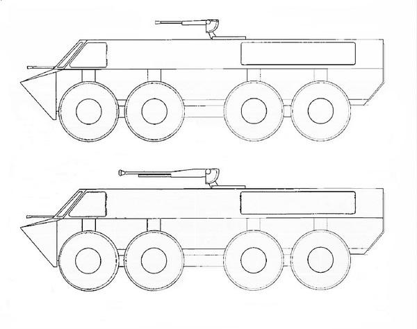 Kołowy transporter opancerzony TK-30