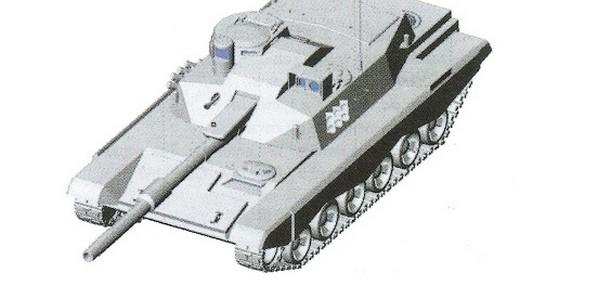 Czołg PT-2001 1