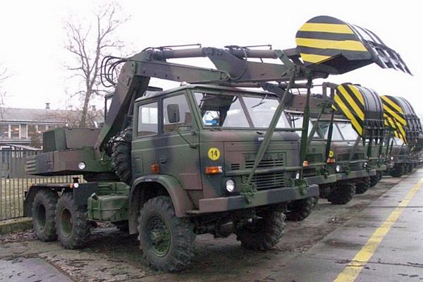Star 266 koparka K-407