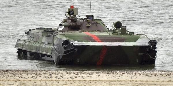 BWP-1 Pływanie 1