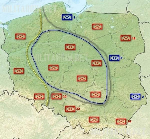 Jednostki OT w latach 1999-2012