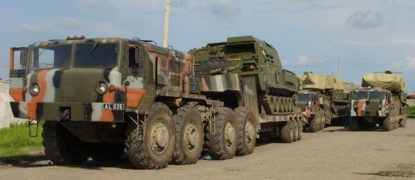 Buk-M1 Gruzja