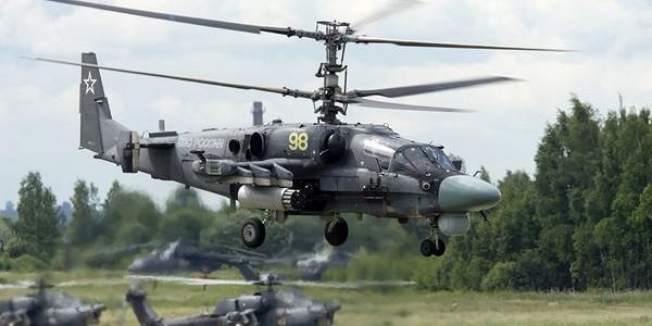 Problemy eksploatacji śmigłowców bojowych Ka-52 w lotnictwie Rosji