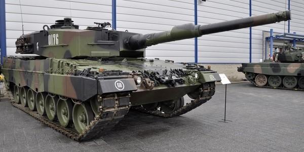 Wypadek załogi czołgu Leopard 2A4 na poligonie w dniu 17 września 2015 r.