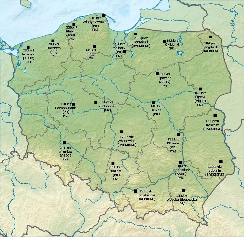 Radary wojskowe w Polsce 2015