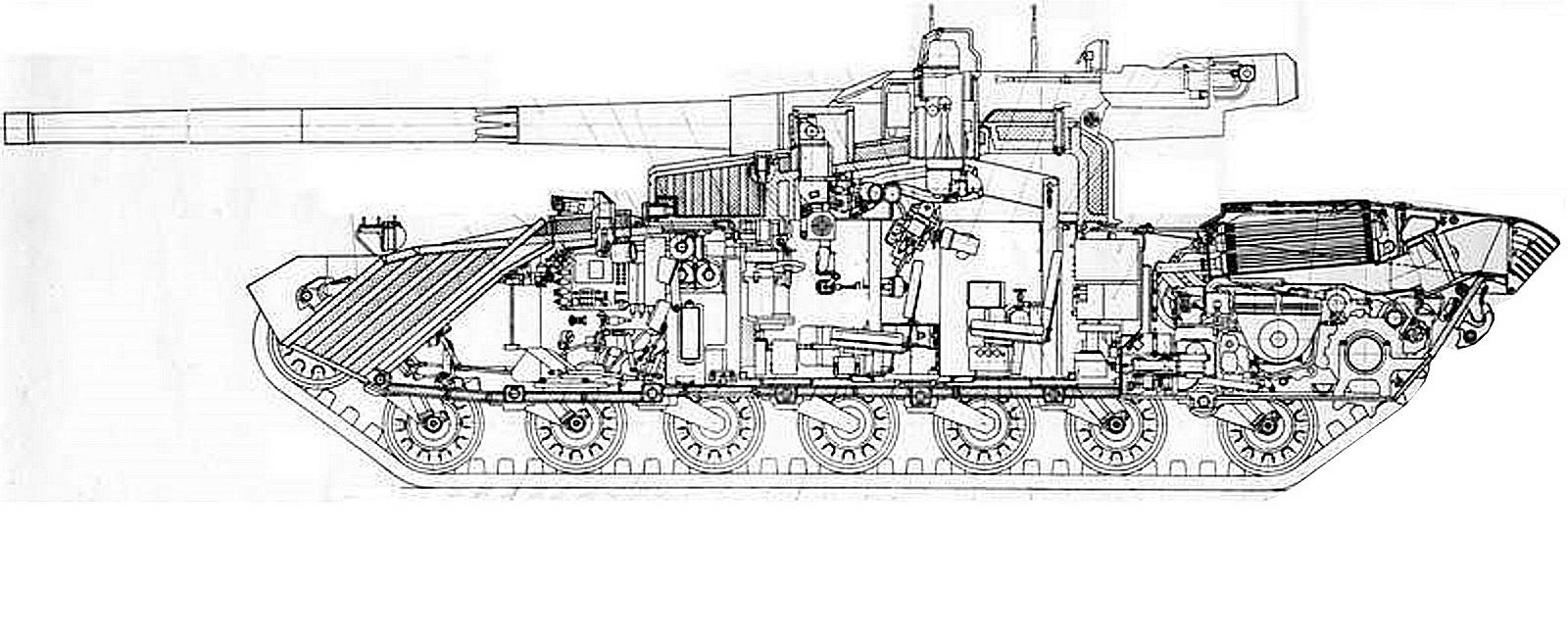 Czołg Obiekt 490A Buntar