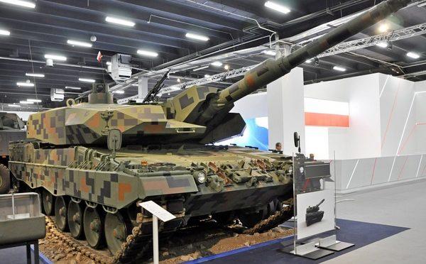 Modernizacja polskich czołgów Leopard 2A4 do standardu Leopard 2PL