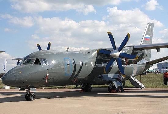 Rejestr rosyjskich samolotów wojskowych – An-140