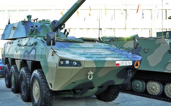 Struktura organizacyjna polskiej brygady zmechanizowanej z KTO Rosomak (2017) – wariant