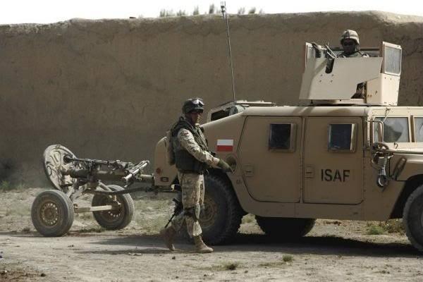 HMMWV z M-98 Afganistan