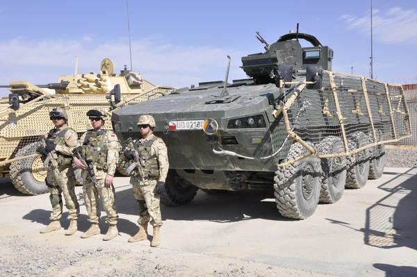 Rosomak-M3 Afganistan