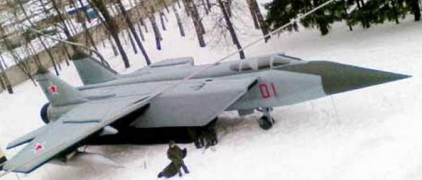 Makieta_MiG-31